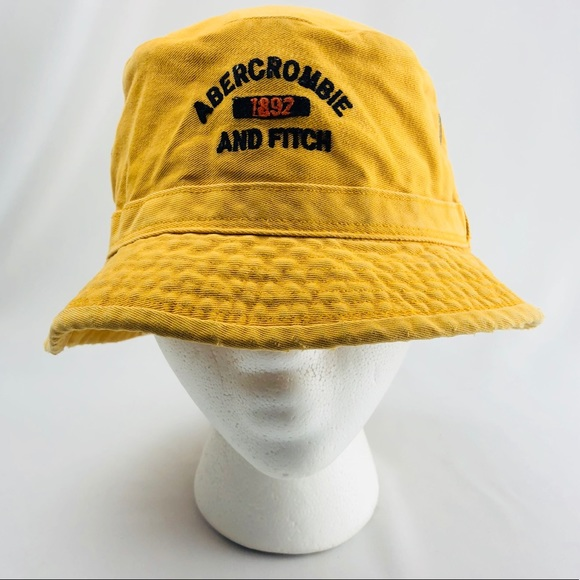 83903d494cc Abercrombie   Fitch Other - Abercrombie Canvas Mustard Yellow Bucket Hat